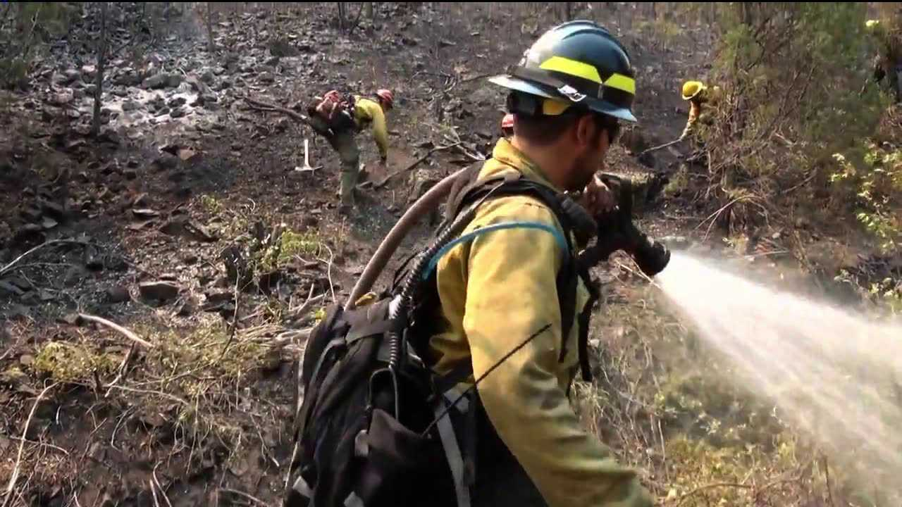 Working at the High Park Fire, Larimer County, Colo.