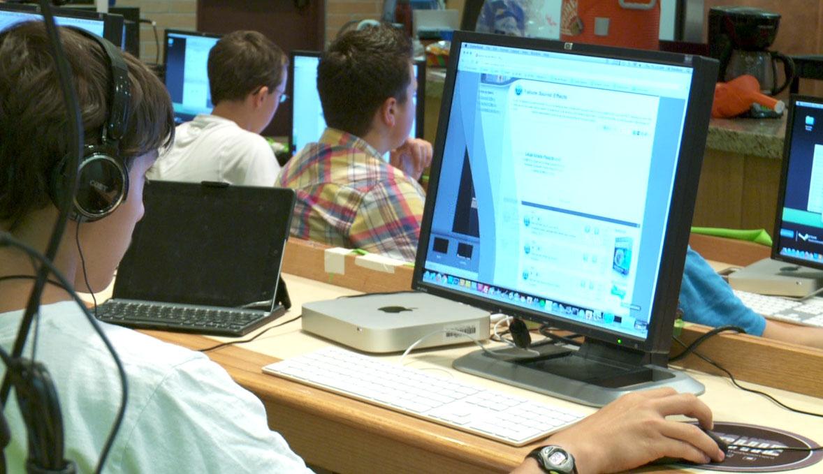Computer summer camp in Denver. July 19, 2012