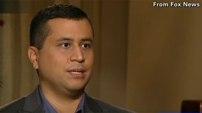 George Zimmerman spoke with Fox News, July 18, 2012.