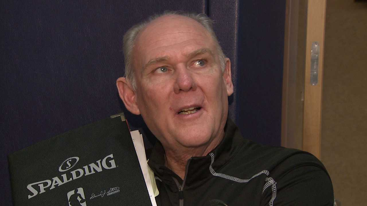Denver Nuggets coach George Karl says he has made up fake trade rumors in the past.