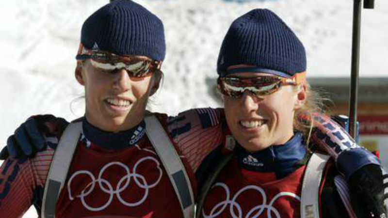 Durango biathlete gave up her Olympic spot to her twin Jan. 12, 2014. (Photo: Tracy and Lanny Jones' Facebook)