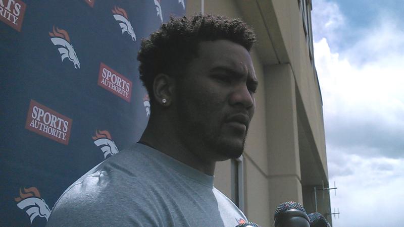 Denver Broncos safety T.J. Ward