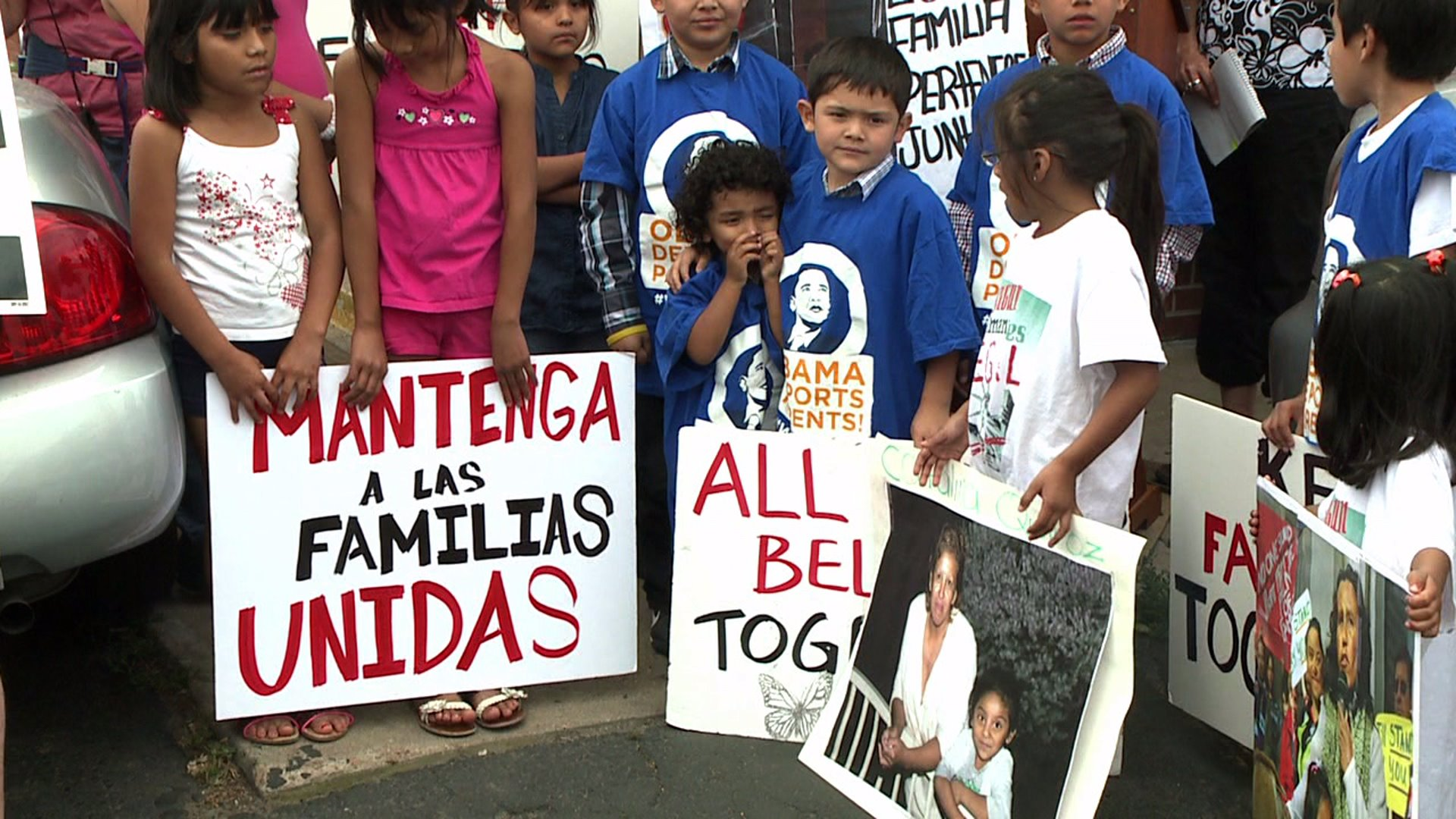 Rally in Denver calls for slowing of deportation of parents