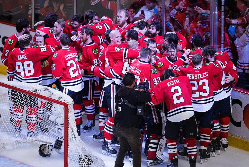 Blackhawks win Stanley Cup. Photo credit: Sports Illustrated