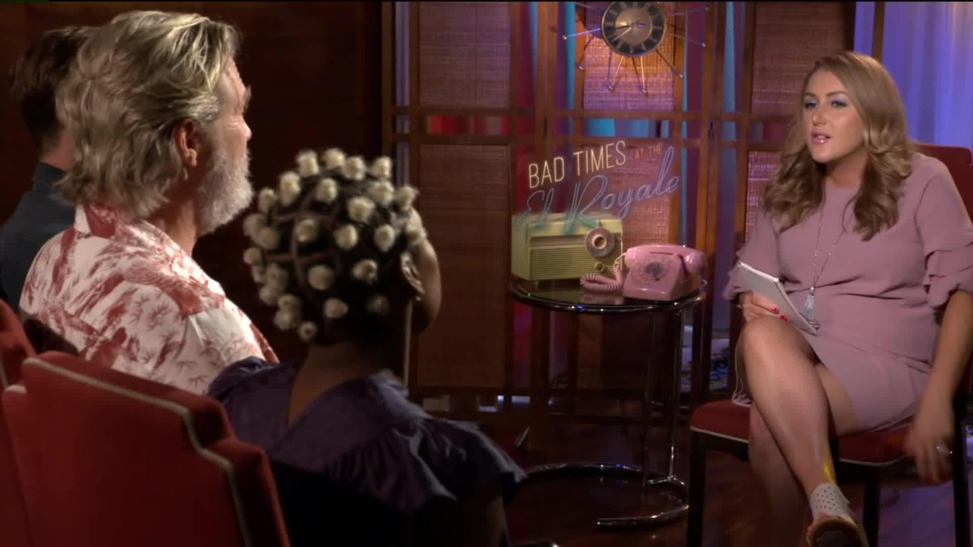 Bad Times At The El Royale Cast Interviews Fox31 Denver