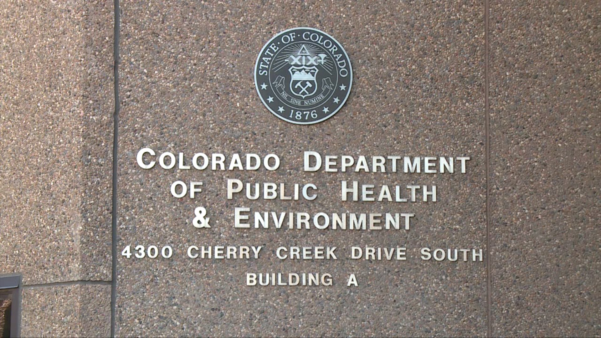 The Colorado Department of Public Health and Environment in Glendale. (CDPHE)
