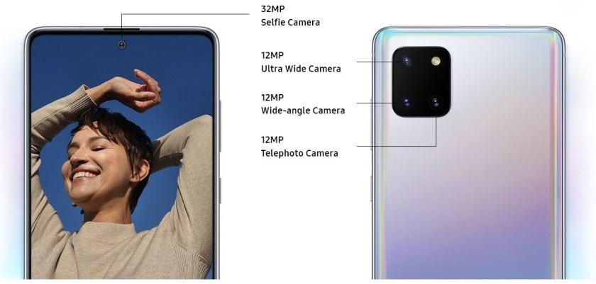 Samsung Galaxy Note10 Lite - Camera