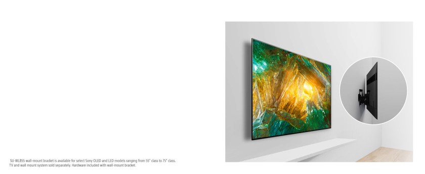 Mount your Sony TV like a work of art