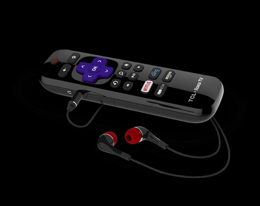 TCL Roku TV C807 Enhanced Remote