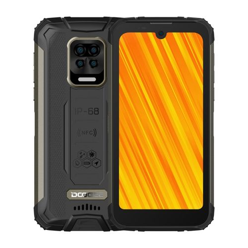 S59 Pro Rugged Phone, 4GB+128GB, 5.71 Inch Android 10 Smartphone - Black