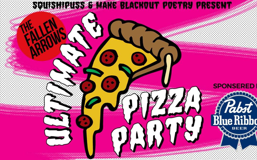 Invitation to the Ultimate Pizza Party