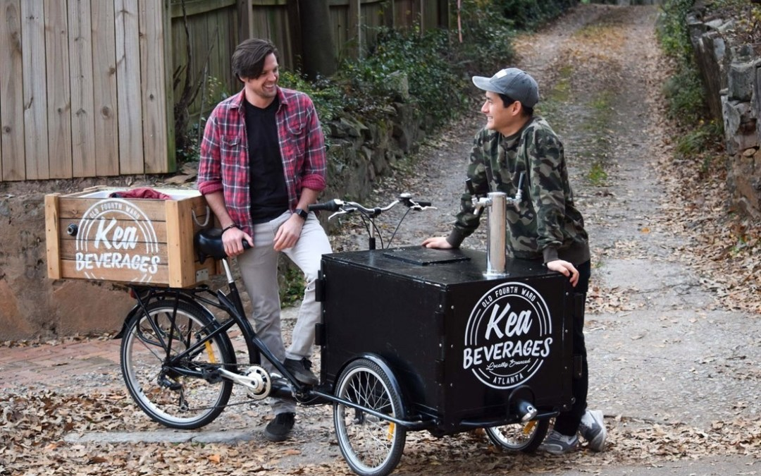 Sean and Keaton from Kea Beverages