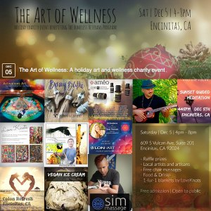 keahi hawaiian music entertainer san diego at the art of wellness charity