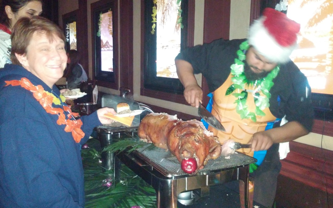 Luau at West Coast Tavern – Hawaiian Christmas Nights!