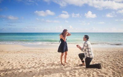 Marriage Proposal Beachside
