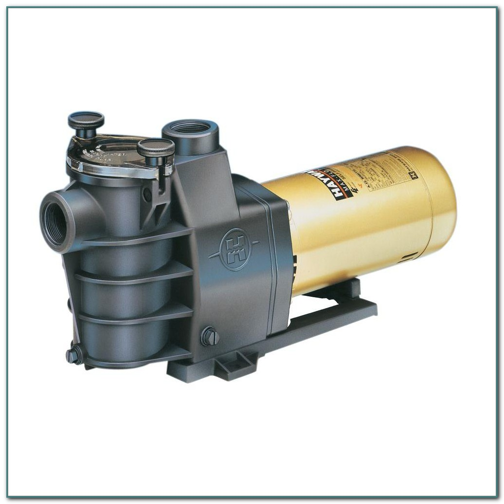 1 1 2 Hp Pool Pump