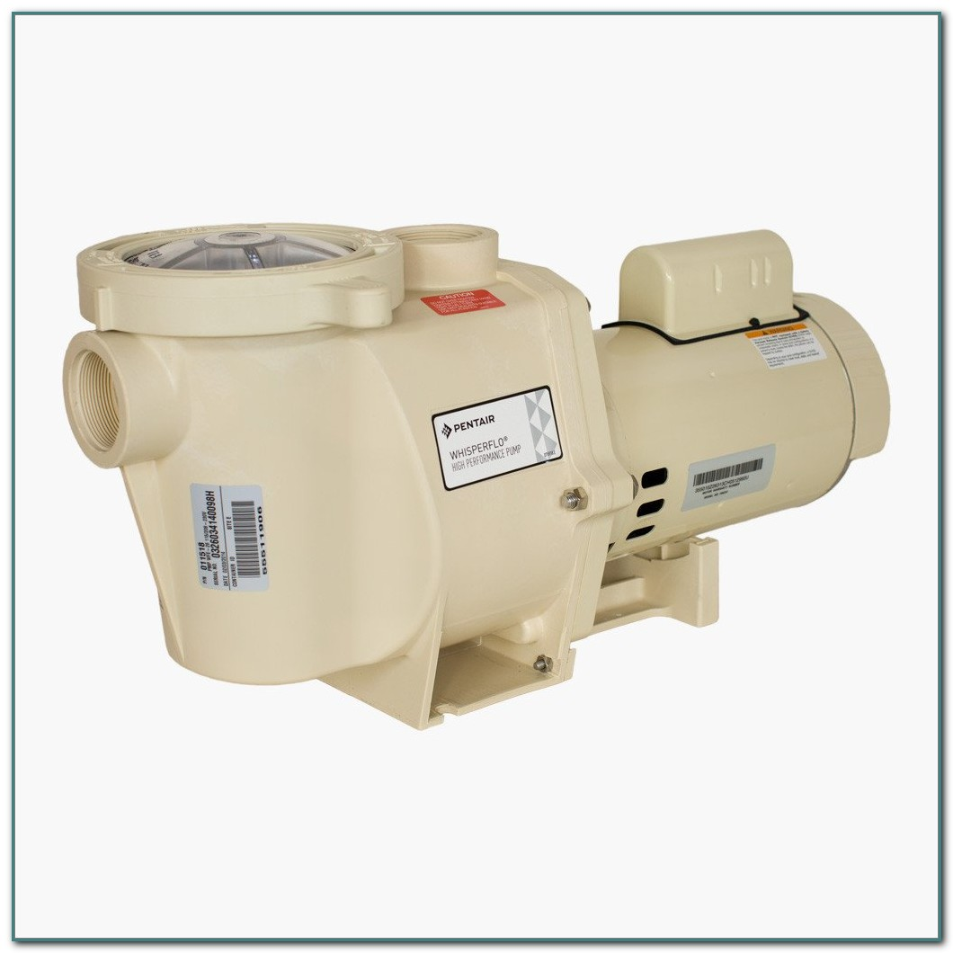 1 Hp Pool Pump Motor Pentair