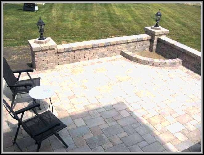 12x12 Paver Patio Designs