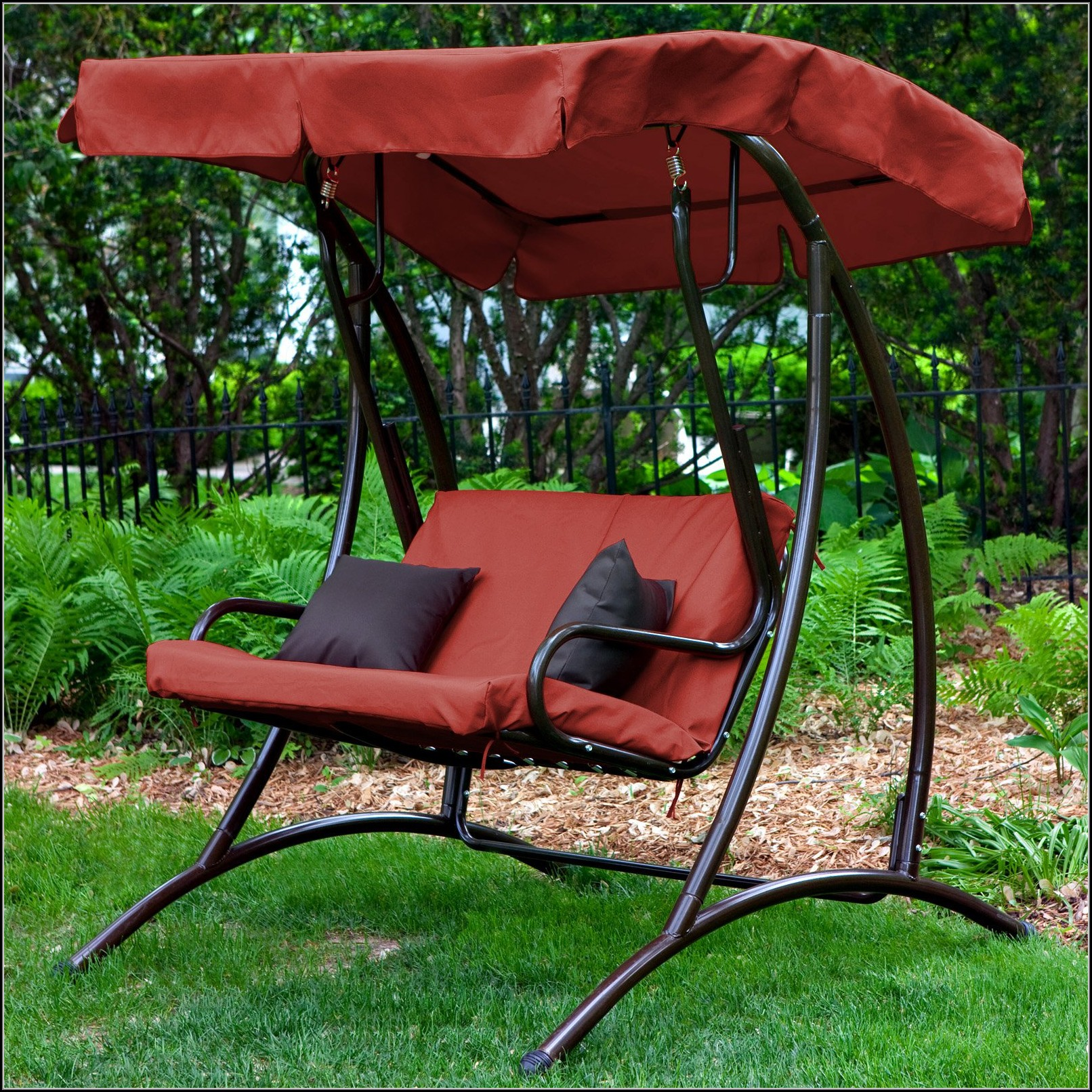 2 Person Patio Swing Replacement Cushions