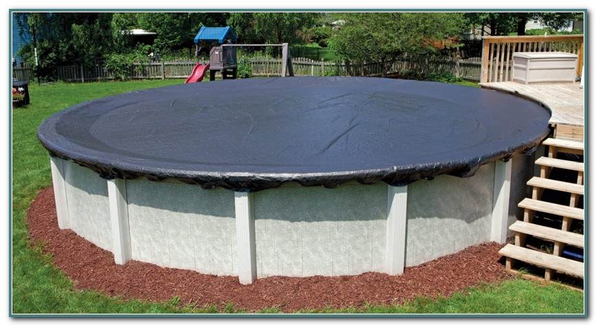24 Ft Round Pool Cover
