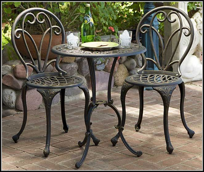 3 Piece Bistro Patio Set