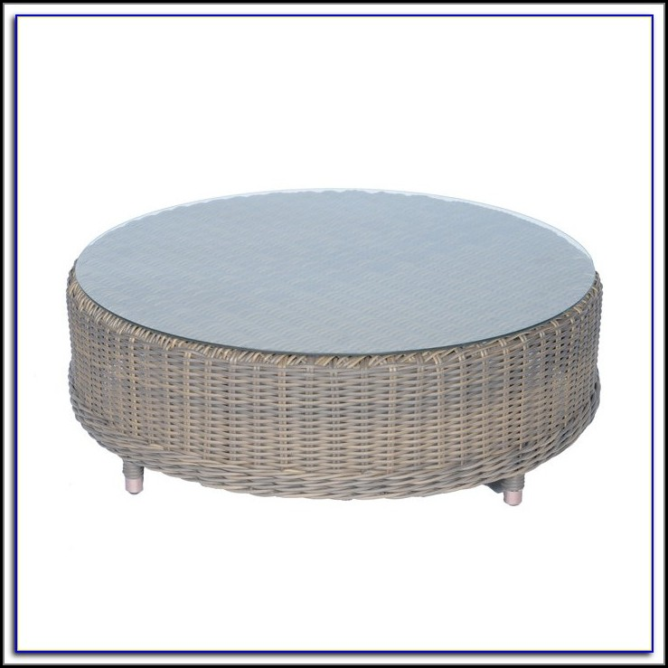 30 Inch Round Patio Coffee Table