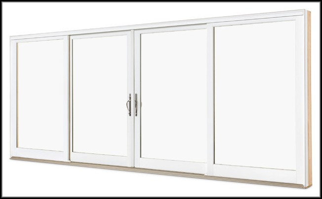 4 Panel Sliding French Patio Doors