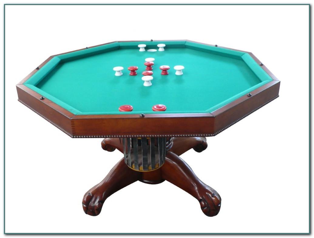 54 Bumper Pool Poker Table