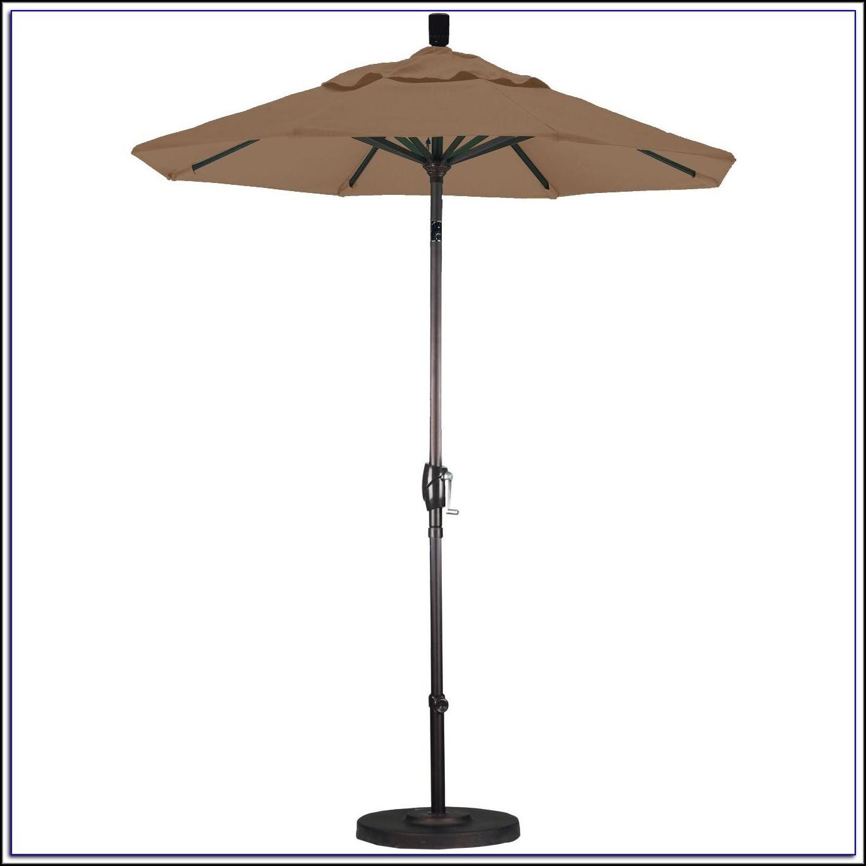 6 Ft Patio Umbrella With Base