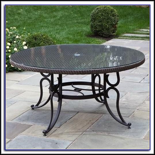 60 Inch Round Aluminum Patio Table