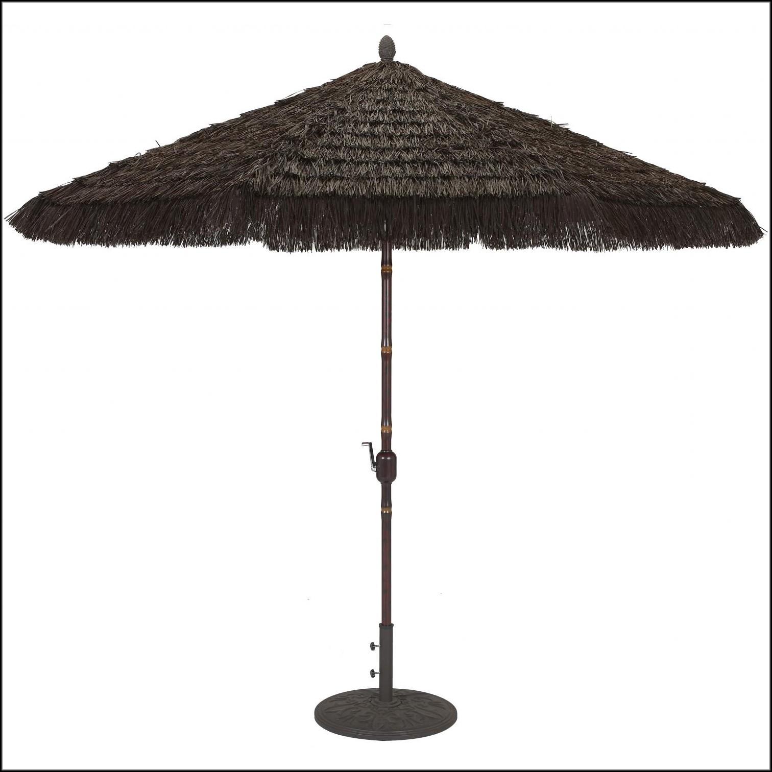 9 Ft Patio Umbrella With Crank