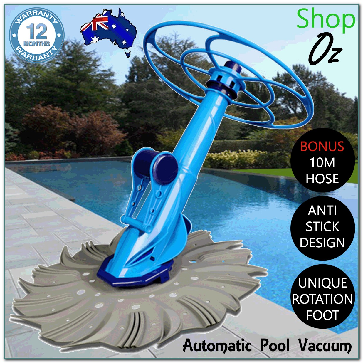 Above Ground Pool Automatic Vacuum Cleaners