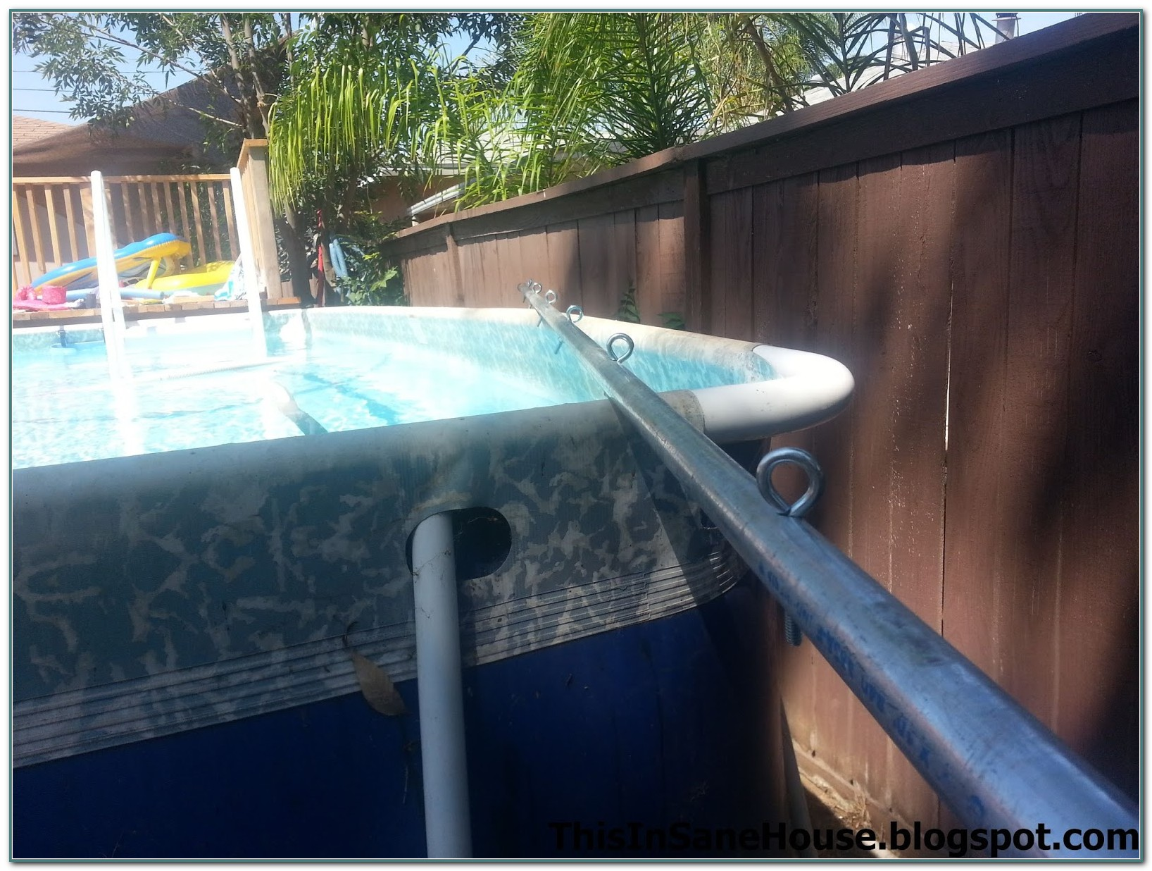 Above Ground Pool Cover Reel Diy