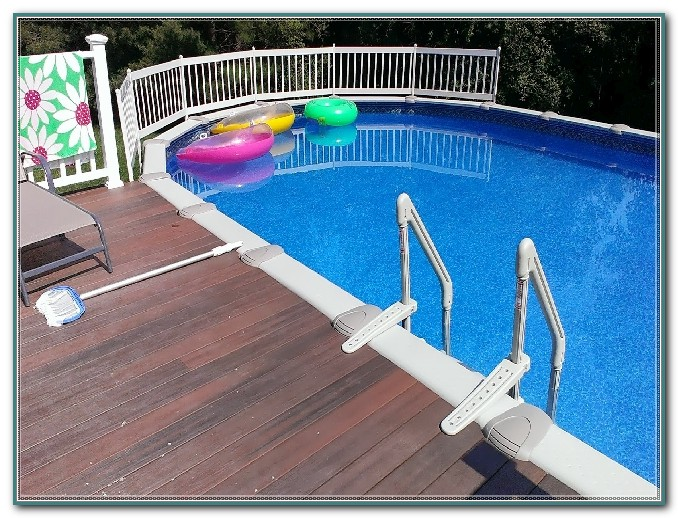 Above Ground Pool Resin Deck Kits