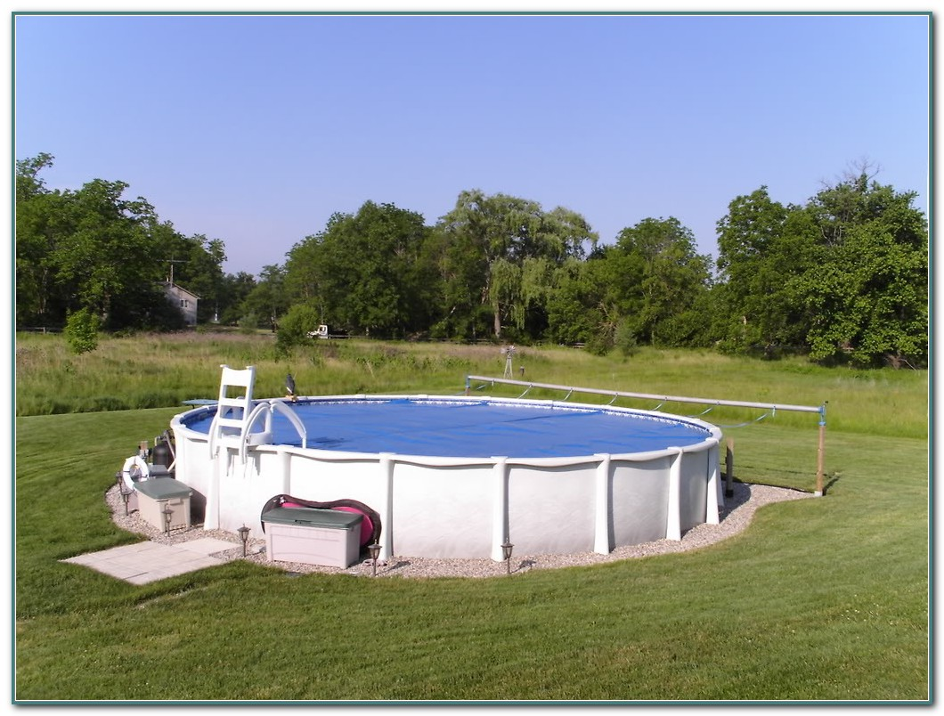 Above Ground Pool Solar Cover Reel