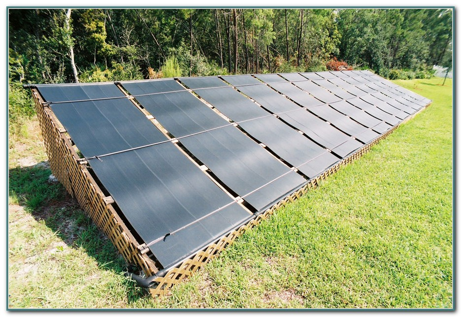 Above Ground Pool Solar Heater Diy