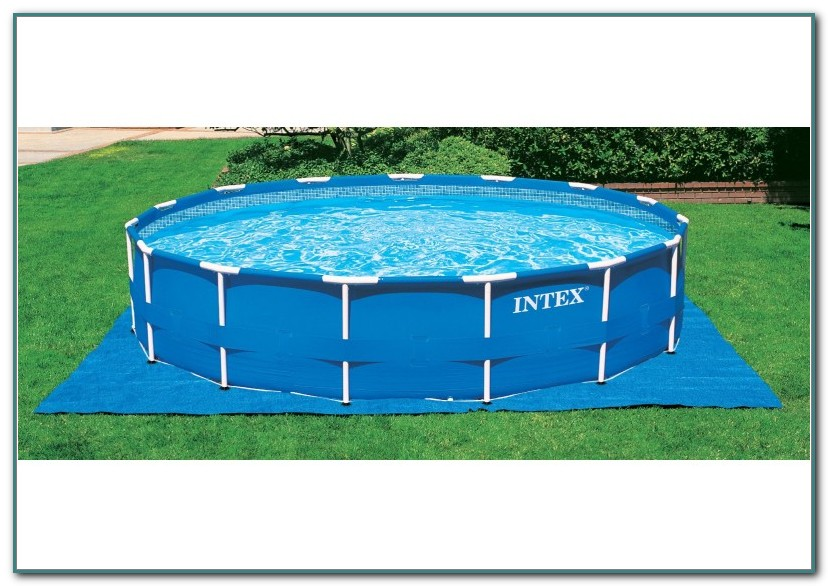 Above Ground Pools Intex Metal Frame
