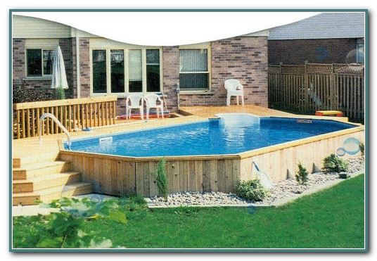 Above Ground Rectangular Pool Deck Ideas