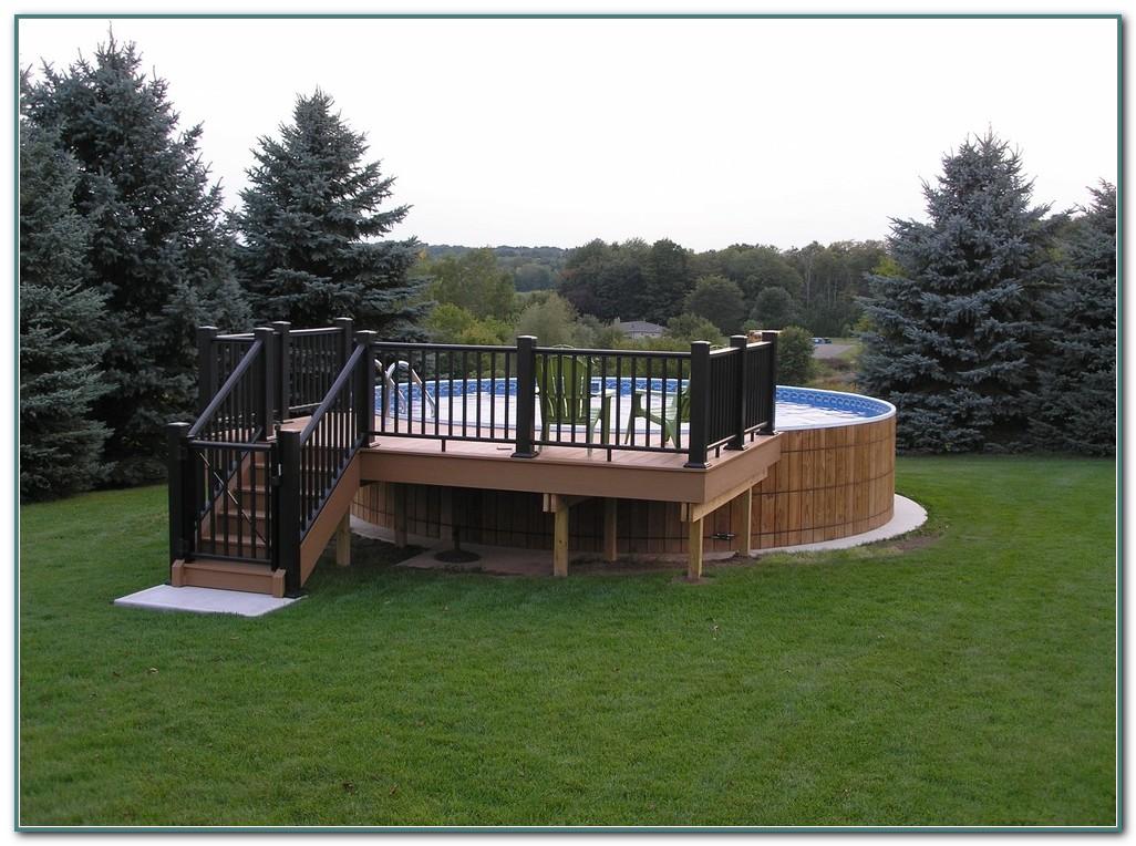 Above Ground Rectangular Pool Designs