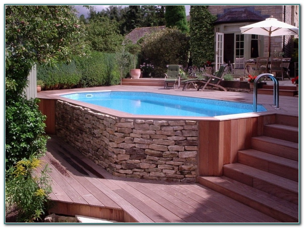 Above Ground Saltwater Swimming Pools