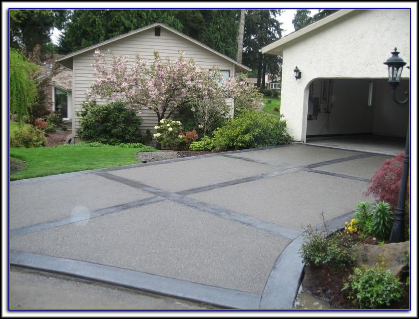 Aggregate Concrete Patio Sealer