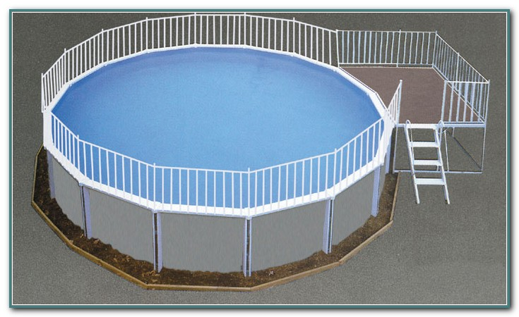 Aluminum Above Ground Pool Kits