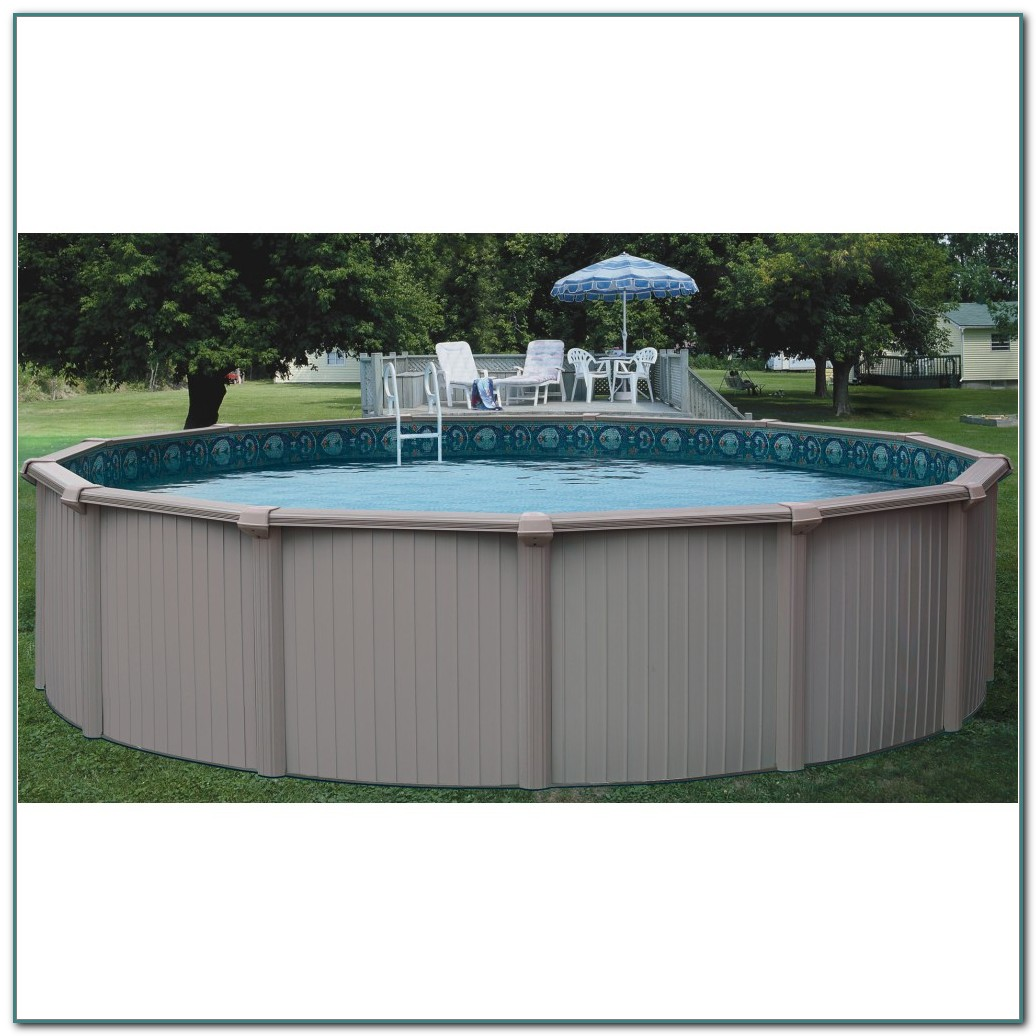 Aluminum Above Ground Swimming Pools