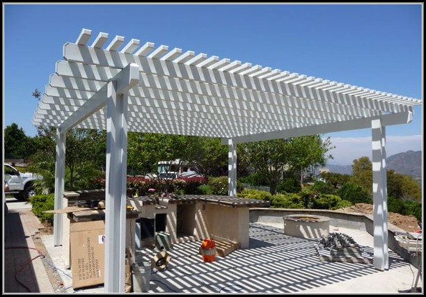 Aluminum Lattice Patio Covers