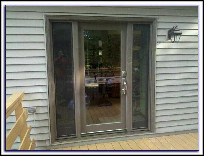 Atrium Patio Doors With Blinds