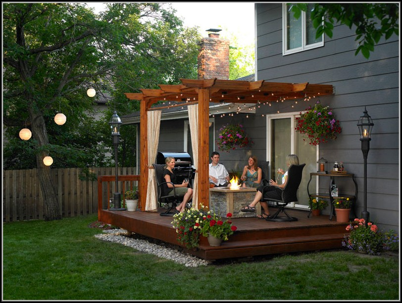 Backyard Patio Pergola Ideas