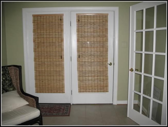 Bamboo Blinds Patio Doors