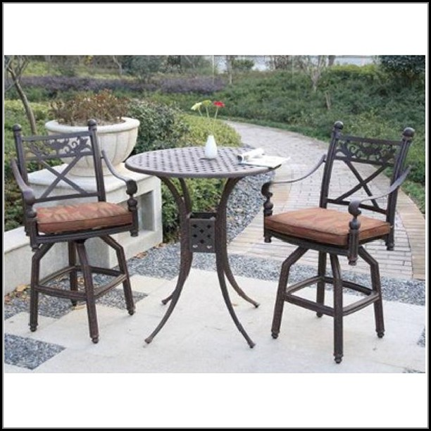 Bar Height Patio Set