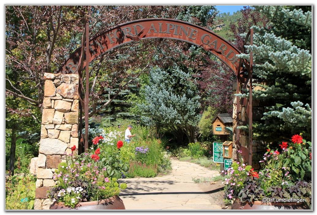 Betty Ford Alpine Gardens Parking