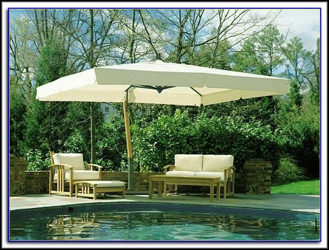 Big Umbrella Patio Table